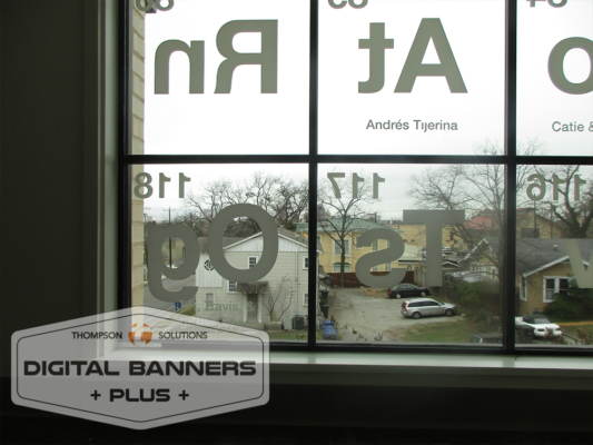 periodic table window wrap