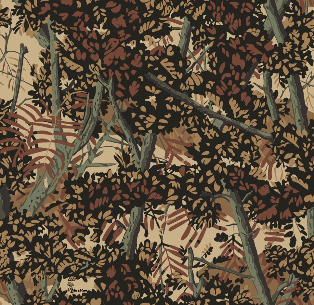 bushlan camo brown