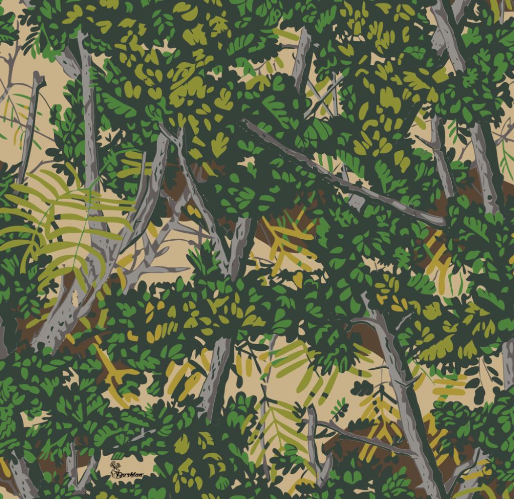 bushlan camo green