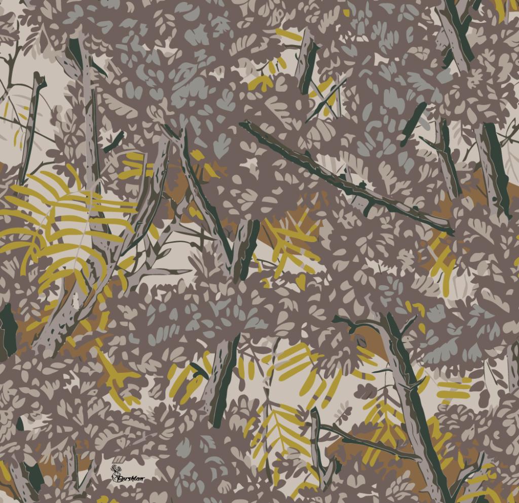 bushlan camo gray
