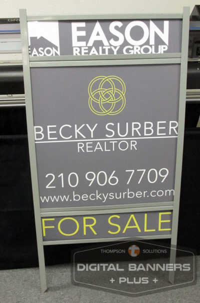 Realty Signs custom made