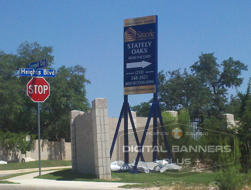 Realty Signs can be large billboards