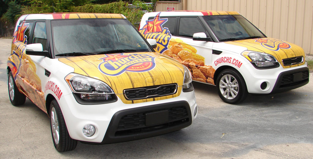 Inspirations for vehicle wraps