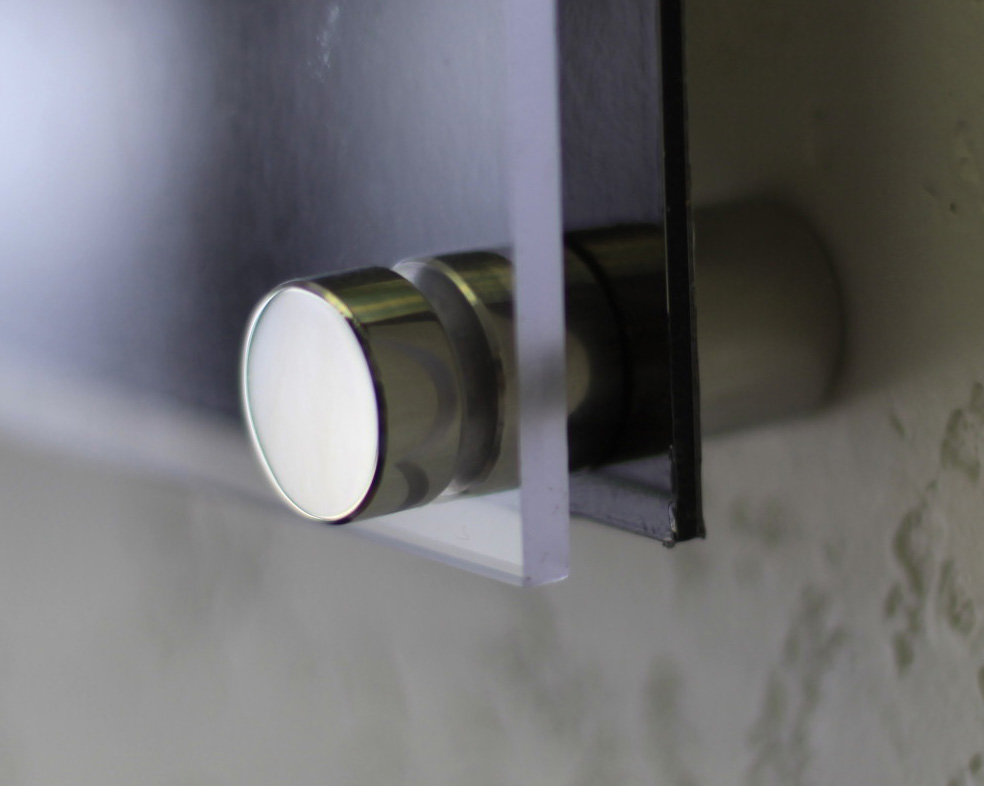 Standoffs - High Quality Mounting Hardware secures signs to walls giving a 3D effect