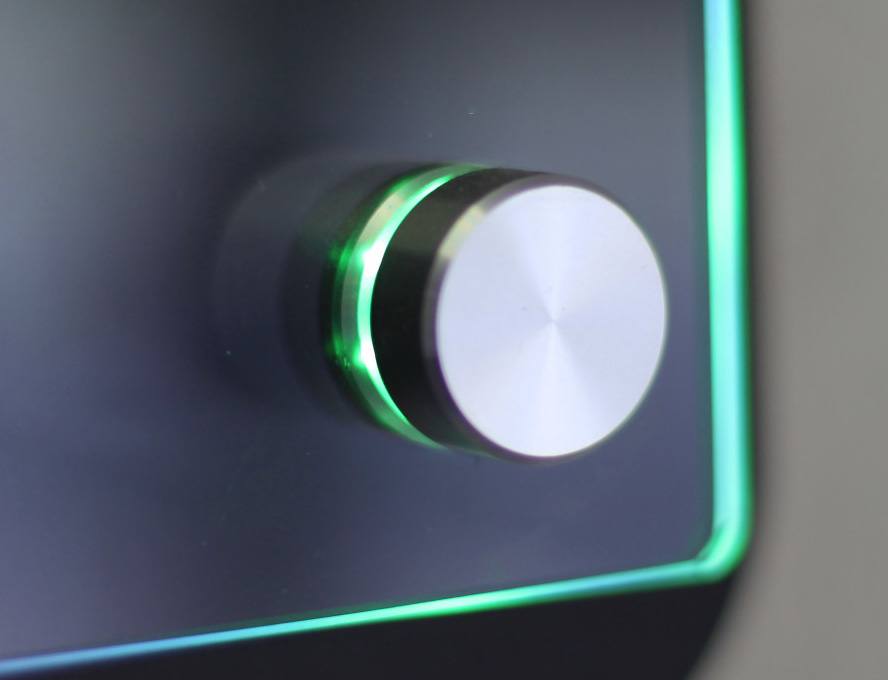 Standoff mounting hardware from Digital Banners Plus with built-in LED lights will brighten up your installation
