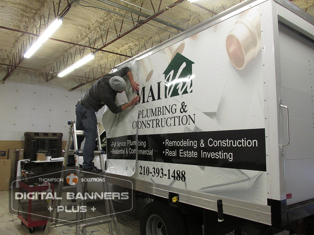 Commercial Wraps on box truck