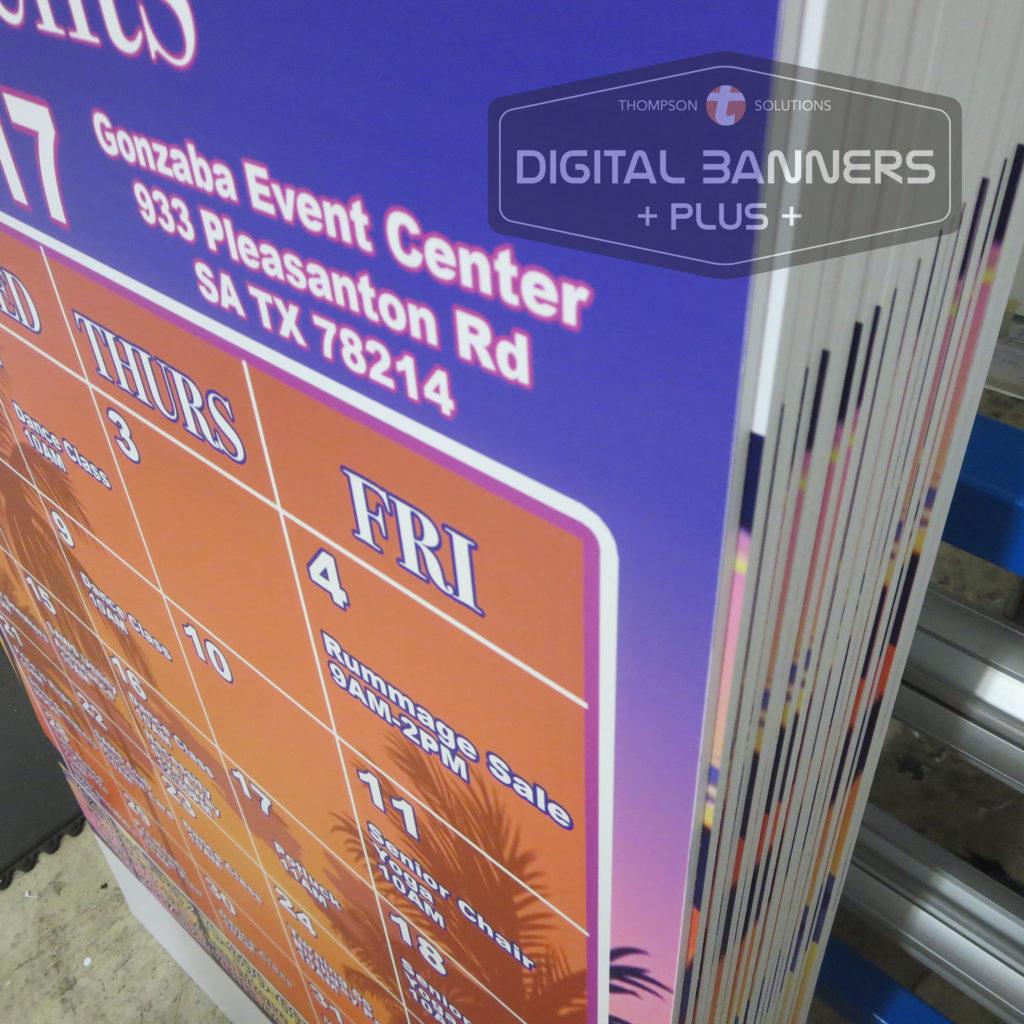 Lightweight Foamcore semi-rigid poster board print by Digital Banners Plus